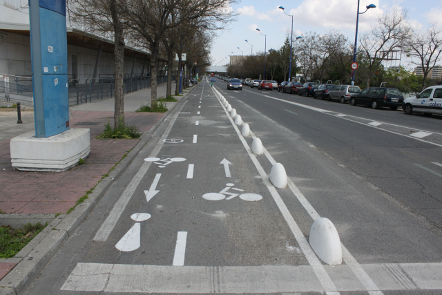 Biking in Seville, Spain, is easy and safe.