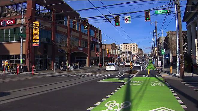 Streetcars and Bikes