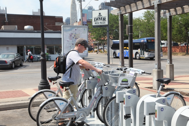 Midtown, Westside and Columbus Park B-cycle Stations
