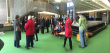 Last Saturday's afternoon tea and site tours at the campus