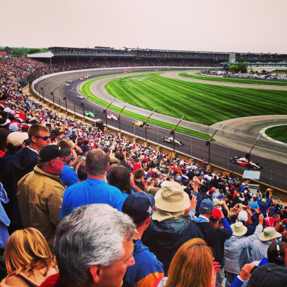 The Indy 500 brings together thousands of people and speaks to the city's automotive heritage. It has helped define Indy
