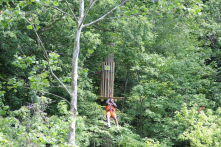 GoApe! adventure course in Eagle Creek Park