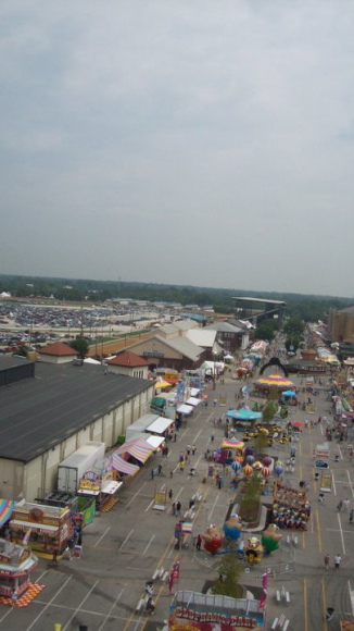 Midway at Indiana State Fair