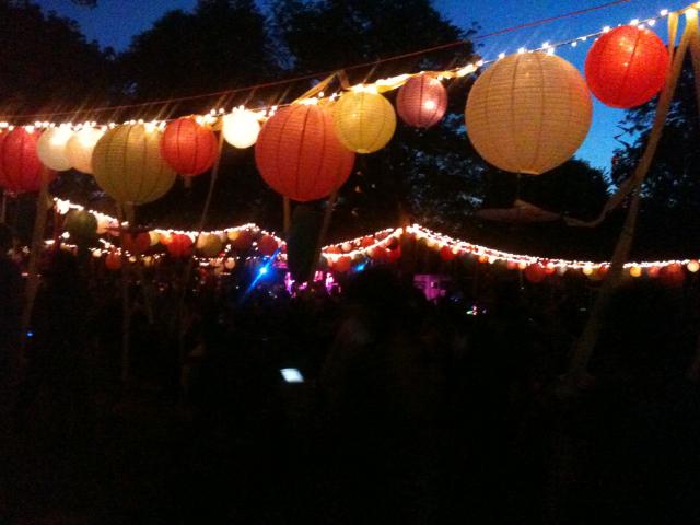 NESCO Feast of Lanterns Festival in Spades Park.  Best neighborhood event!