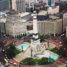 View of the Circle from the Skyline Club