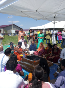 Ground opening of the new Vedic Center