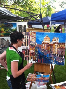 Orem arts in the park