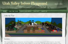Orem doesn't have much.  We need more family places.  http://indoorplayground.weebly.com/
