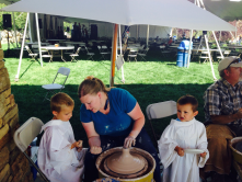 Family fun at the Timpanogos Storytelling Festival at Mt Timpanogos Park Orem, Utah!
