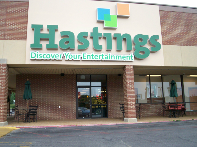 Orem needs a Hastings or similar kind of store.