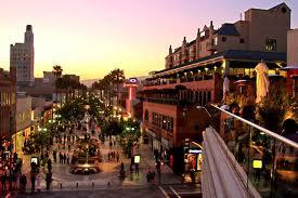 3rd Street Promenade in Santa Monica.