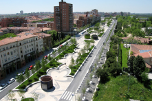 Open Public Space, Walk-able, Limited Trafficway