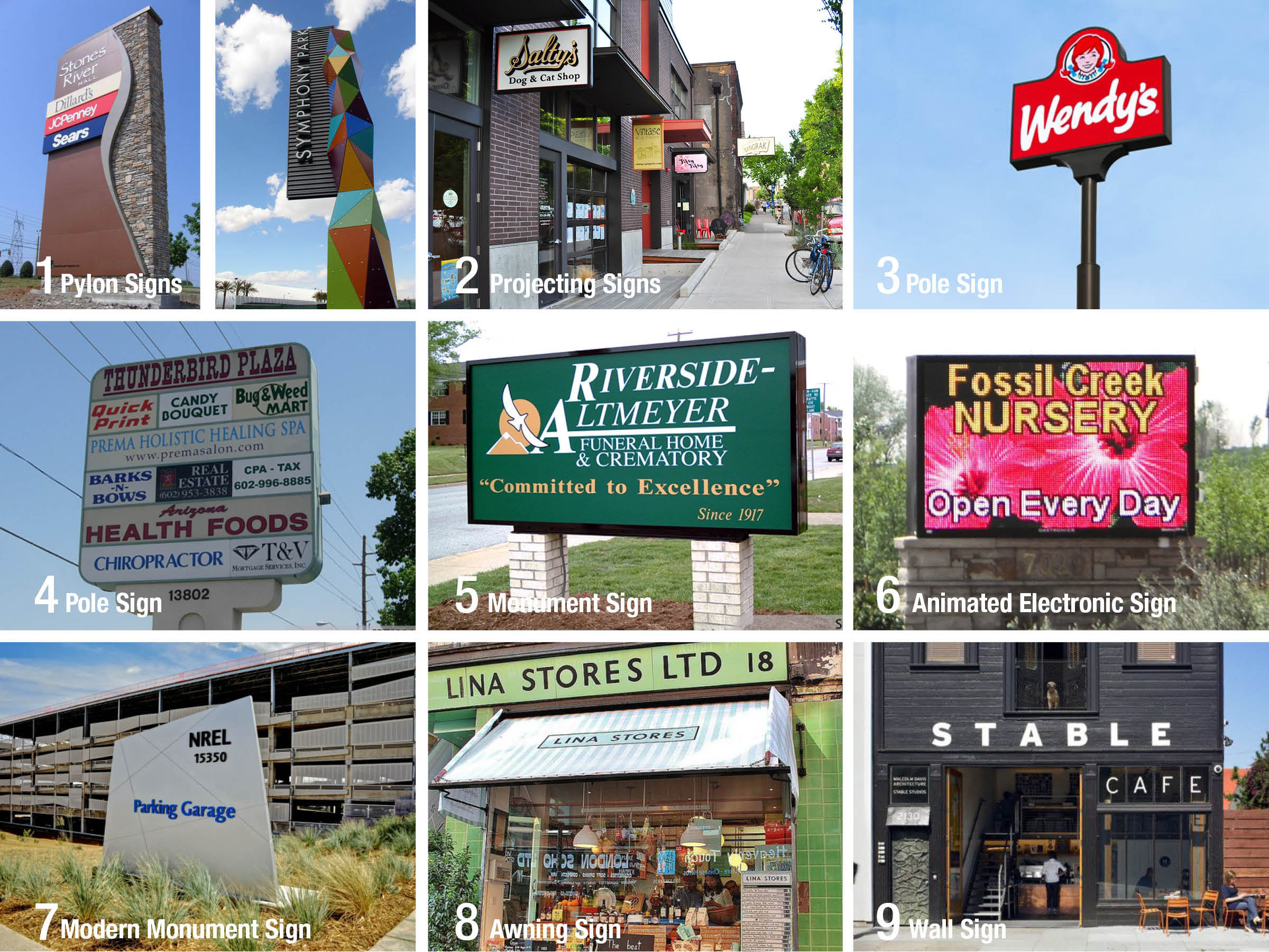 State Street Planning: Sign Types