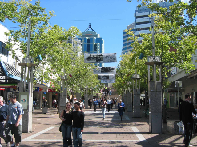 It would be just wonderful if we could have a pedestrian mall with our lovely Capitol building at one end.