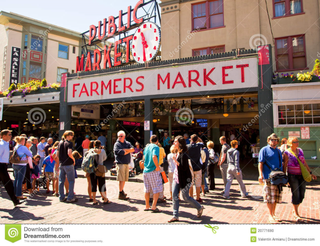 Move the farmers market downtown for all to enjoy year-round to spur urban development and more pedestrian traffic.