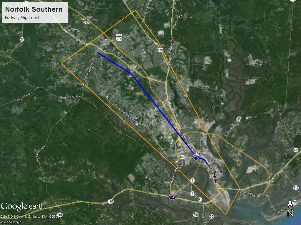 Potential Fixed Guideway Alignment