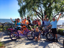 Lake St. Clair Metropark is a great destination to go for a group bike ride and enjoy conversation.