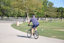 Lake St. Clair Metropark - I love biking around this park and getting a fantastic view of Lake St. Clair!