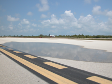 Key West Salt Water from Drain on Tarmac