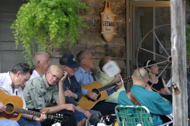 Uncle Dave Macon Days and other heritage celebrations.