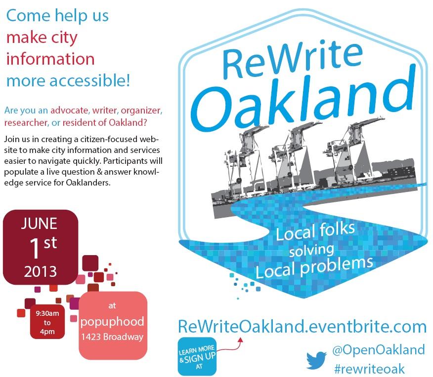 ReWrite Oakland