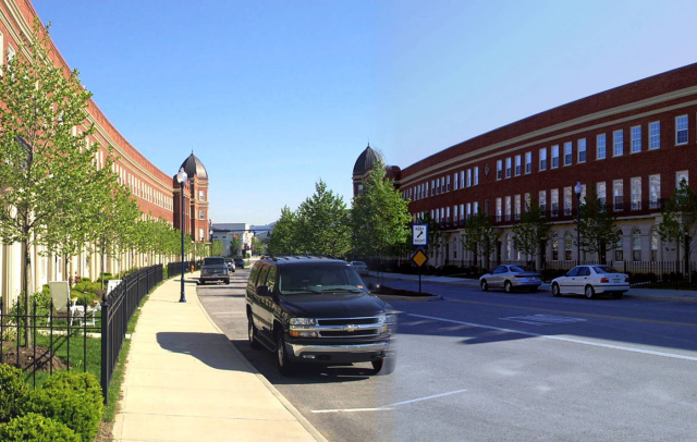 Sample Five:  Does this image illustrate a street you would prefer a potential home buyer to take to get to your neighborhood?
