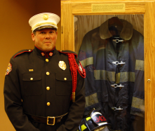 Firefighters from Golder Ranch Fire District participated in presenting the colors