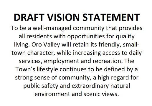 Draft Vision Statement