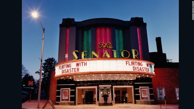 Retro movie theater