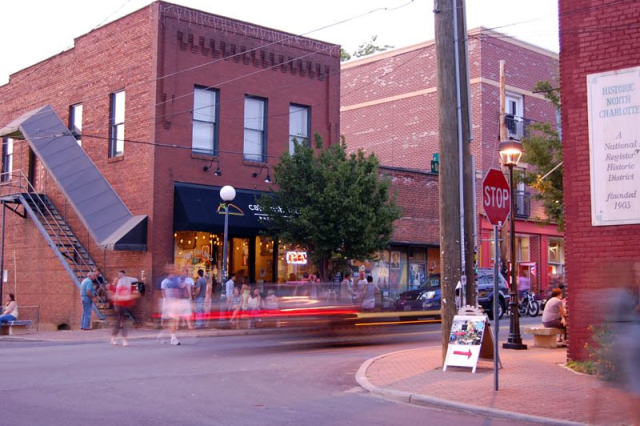 Before I moved to Downtown Mooresville, I was seriously considering NoDa. Great downtown, old homes, and mixed new development.