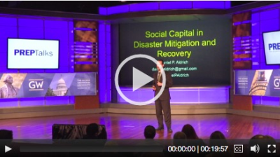Social Capital in Disaster Mitigation and Recovery