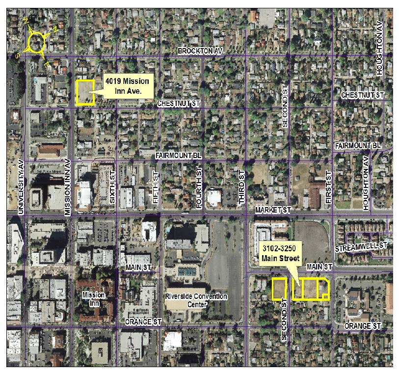 Properties in downtown Riverside available for development -- MEETING CANCELLED, NEW DATE WILL BE ANNOUNCED
