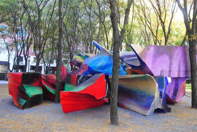 Add more public art installations throughout San Antonio, that's made by local and world renowned artist.