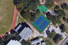 Public Basketball Courts in Parks near Schools