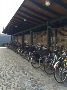 Bike houses (covered parking for commuters)