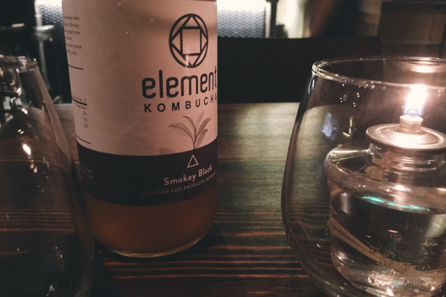More local brands. Incentives for new ventures. Pictured is Alchemy Restaurant (N.Flores) and Element Kombucha brands.