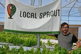 Local Sprout's CEO/Founder, Mitch Hagney, is making San Antonio more resilient by hydroponic farming in the city!