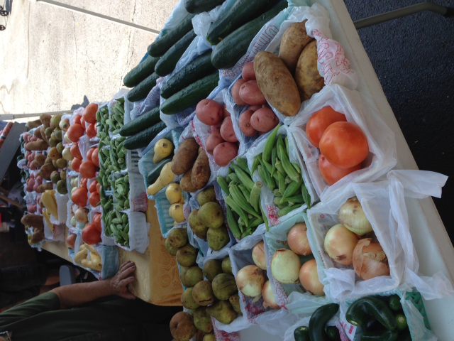Fresh produce at affordable prices at the SAHA Farmers Market.