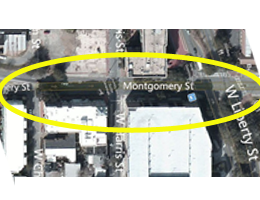 What is your current experience like on Montgomery Street?