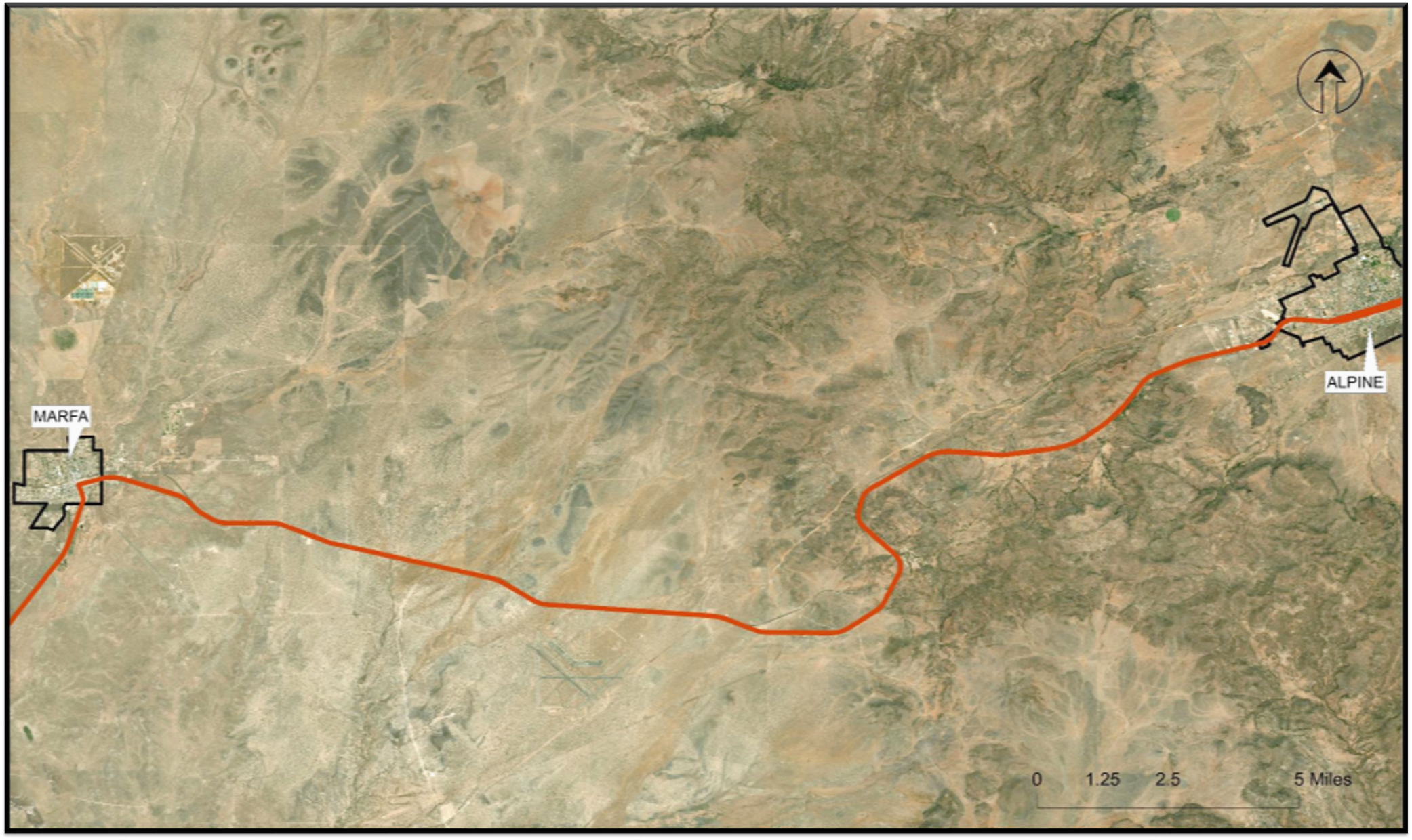 Top 3 Improvement Options for Area D (US 67 from Marfa to Alpine)