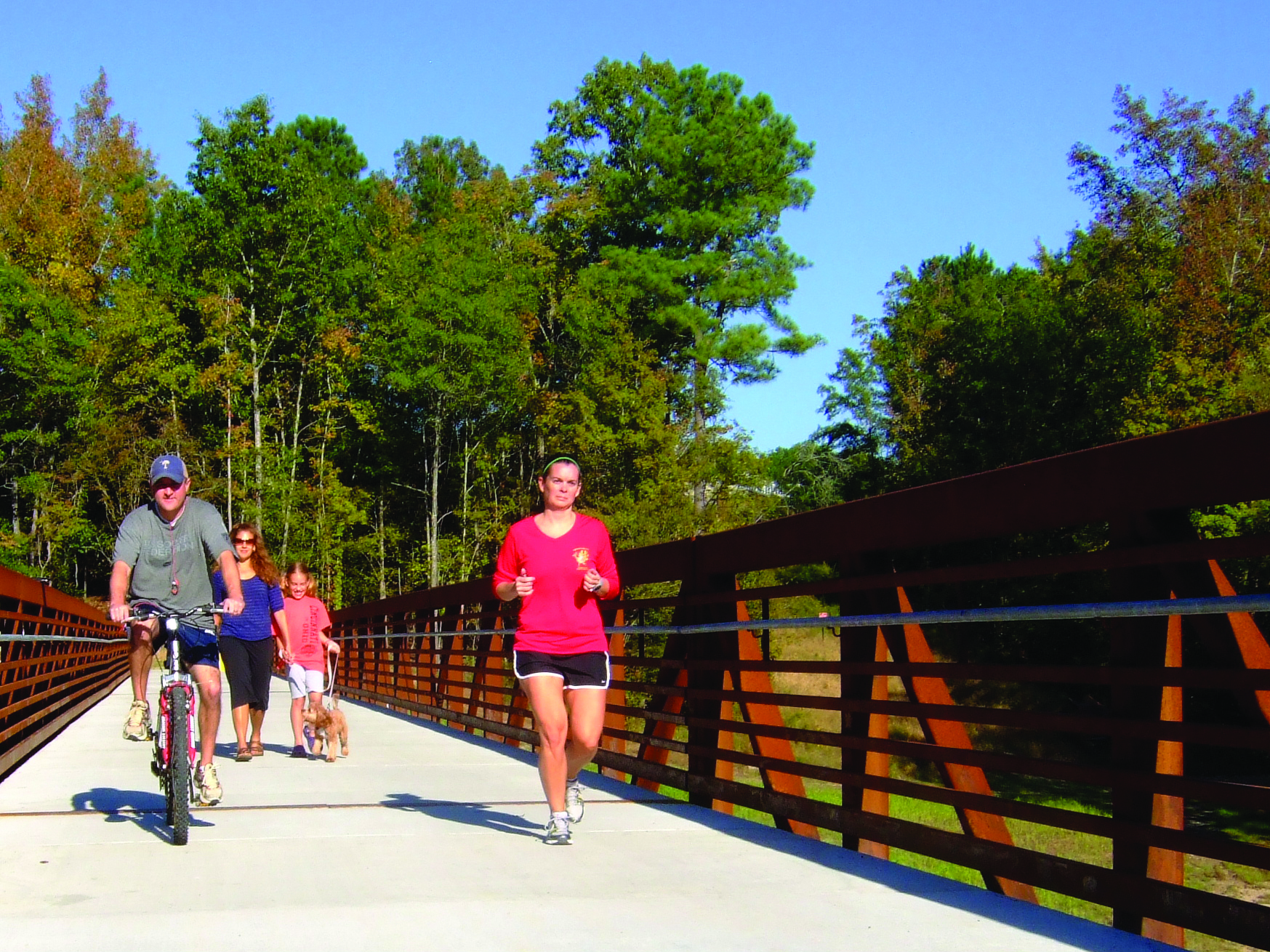 Play It Forward - Getting to the Greenways in Wake Forest.